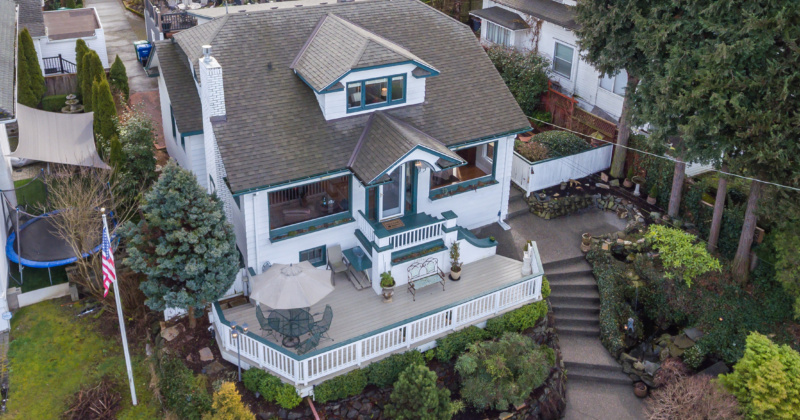 Classic Craftsman Home Overlooking Green Lake