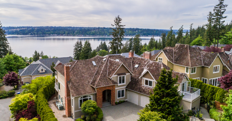 Exquisite Home with Lake Sammamish Views